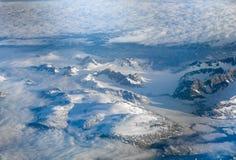 Luchtmening van Groenland stock foto