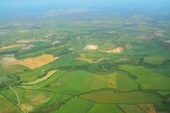 Luchtmening van het platteland van Sardinige stock afbeeldingen