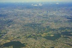 Luchtmening van het Verenigd Koninkrijk stock foto's