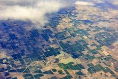Luchtmening van Hinckley, Woestijn, Oase, Delta, Sutherland royalty-vrije stock afbeelding