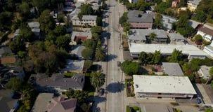 Luchtmening van Hollywood in Los Angeles stock videobeelden