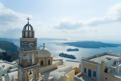 Luchtmening van Katholieke Kathedraalkerk van Heilige John The Baptist royalty-vrije stock foto's