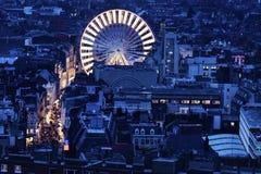 Luchtmening van Lille Stock Afbeelding