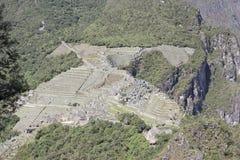 Luchtmening van Machu Picchu Royalty-vrije Stock Afbeelding