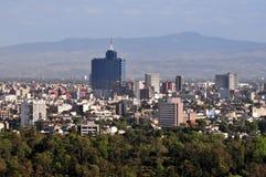 Luchtmening van Mexico-City - Mexico Royalty-vrije Stock Foto's