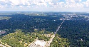 Luchtmening van Mobiel, Alabama Stock Afbeeldingen