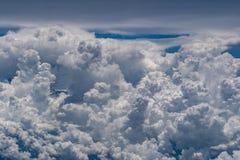 Luchtmening van onweer clounds Royalty-vrije Stock Foto