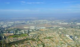 Luchtmening van Opdrachtheuvels, San Diego Stock Afbeelding