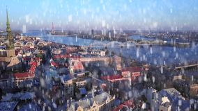 Luchtmening van Riga, Letland