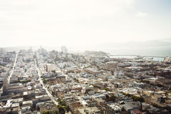 Luchtmening van San Francisco, Californië Stock Afbeeldingen