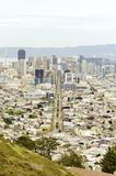 Luchtmening van San Francisco Van de binnenstad Royalty-vrije Stock Foto