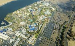 Luchtmening van Seaworld, San Diego Royalty-vrije Stock Fotografie