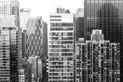 Luchtmening van Uit het stadscentrum Manhattan Royalty-vrije Stock Afbeelding