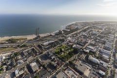 Luchtmening van Ventura California Coast Van de binnenstad royalty-vrije stock foto