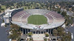 Luchtmeningen van Rose Bowl In Pasadena California stock afbeelding