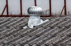 Luchtopening op het dak Royalty-vrije Stock Afbeeldingen