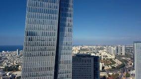Luchtparade Tel Aviv Israël stock videobeelden