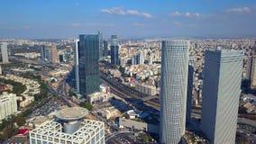 Luchtparade Tel Aviv Israël stock video