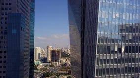 Luchtparade Tel Aviv Israël stock footage