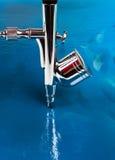 Luchtpenseel royalty-vrije stock afbeelding