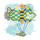 Luchtschip X byb Royalty-vrije Stock Afbeeldingen