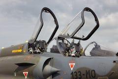 Luchtspiegeling 2000 cockpit Royalty-vrije Stock Afbeeldingen