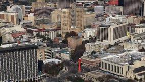 Luchttimelapsemening van San Antonio 4K stock video