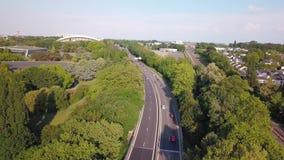 Luchttopviewweg in Nantes
