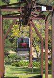 Luchttram in Sterling Vineyards in Napa-Vallei royalty-vrije stock foto
