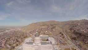 Luchtutah Salt Lake City stock footage