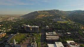 Luchtutah Salt Lake City stock video