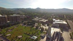 Luchtutah Salt Lake City stock footage
