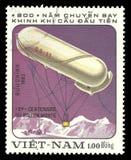 Luchtvaart, kabelballon CA-11 royalty-vrije stock foto's