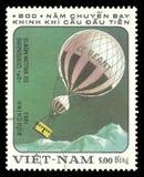 Luchtvaart, Luchtballon de reus royalty-vrije stock fotografie