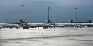 Luchtvaartlijn stock foto's