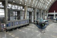 Luchtvaarttentoonstelling in de wetenschap en de Technologiemuseum van Sichuan Royalty-vrije Stock Afbeeldingen