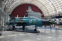 Luchtvaarttentoonstelling in de wetenschap en de Technologiemuseum van Sichuan Royalty-vrije Stock Fotografie