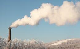 Luchtvervuiling Stock Afbeeldingen