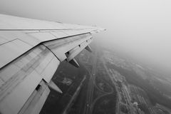 Luchtvervuiling in Peking Royalty-vrije Stock Afbeelding