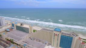 Luchtvideo van Daytona Beach FL stock videobeelden