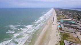 Luchtvideo van Daytona Beach FL stock video