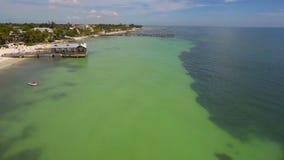Luchtvideo van de Sleutels van Florida stock video