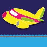 Luchtvliegtuig royalty-vrije illustratie