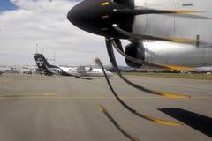Luchtvliegtuig van Air New Zealand Royalty-vrije Stock Foto