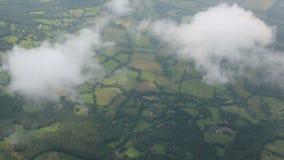 Luchtwolken stock footage