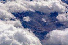 Luchtwolkenvormingen Royalty-vrije Stock Fotografie