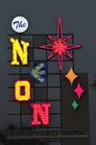 Luci al neon Fotografia Stock