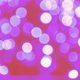 Luci astratte rosa della bolla Fotografia Stock Libera da Diritti