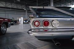 Luci classiche dell'automobile Fotografia Stock