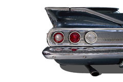Luci classiche isolate dell'automobile Fotografia Stock